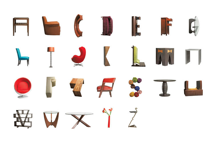 the unlikely alphabet   foerstel : creative + results