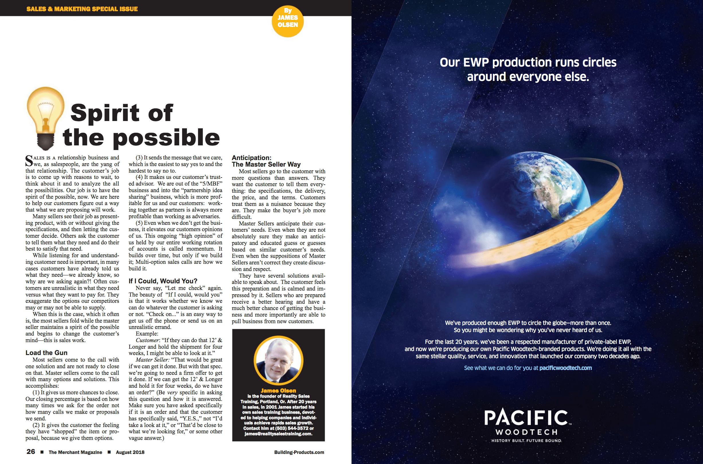 August 2018 edition of The Merchant Magazine
