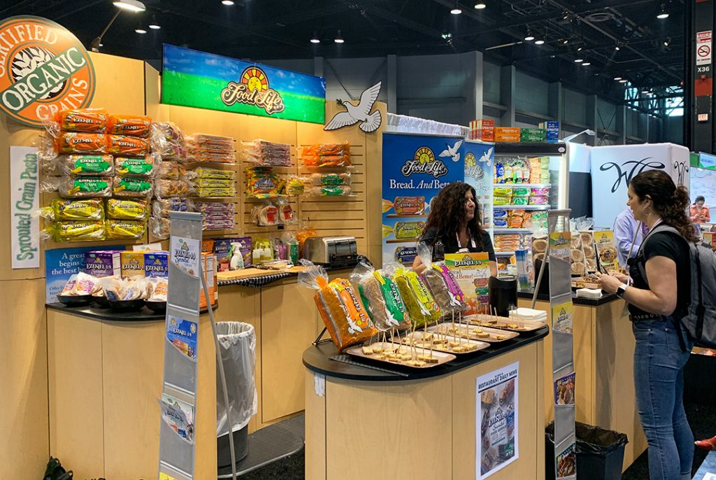 Food for Life booth at NRA '19