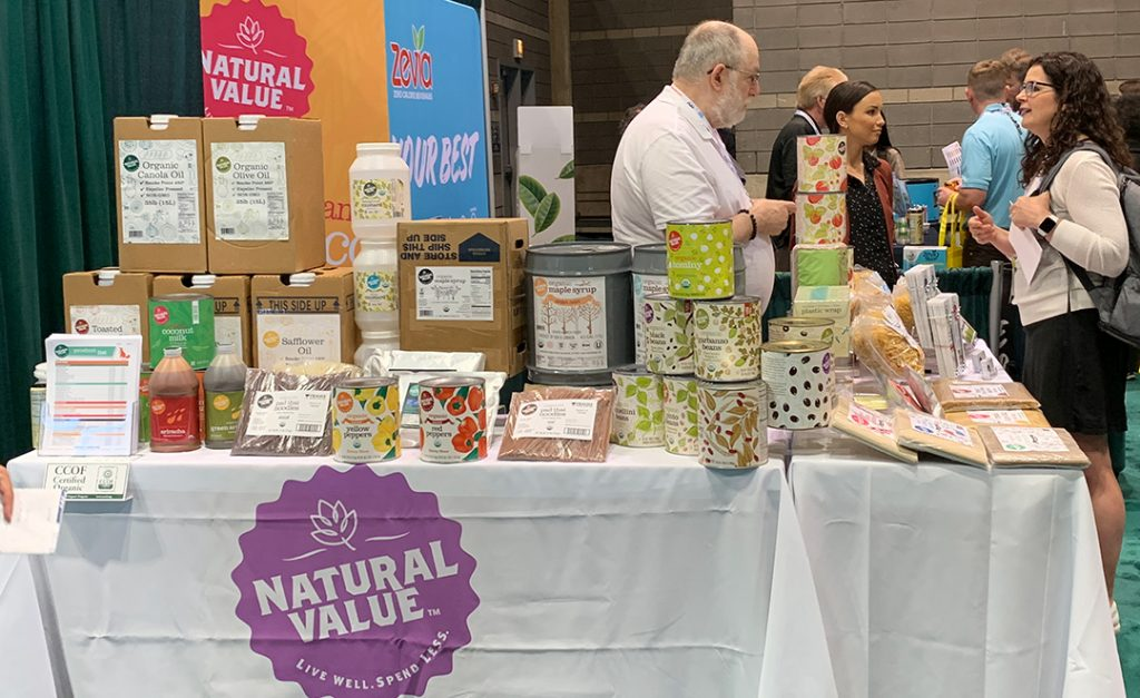 Natural Value booth at NRA '19
